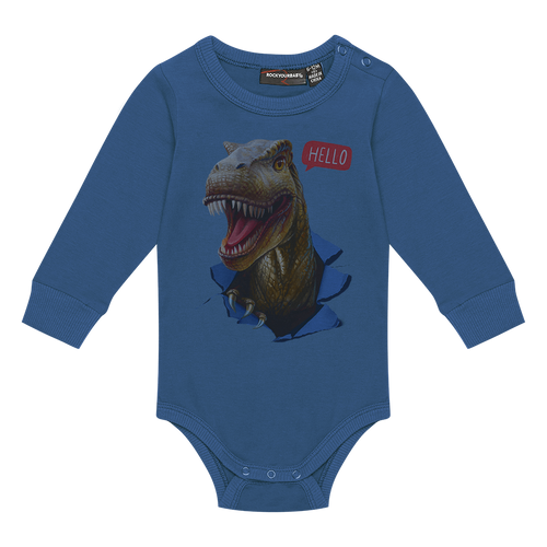 ROCK YOUR BABY HELLO DINO BODYSUIT