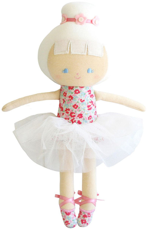 ALIMROSE BABY BALLERINA DOLL - SWEET FLORAL