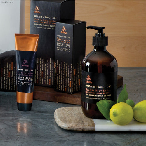 MANDARIN, BASIL AND LIME HAND AND BODY LOTION