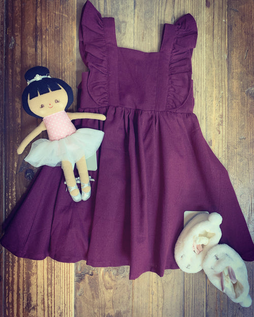DREAMCATCHER PRINCESS DRESS MULBERRY