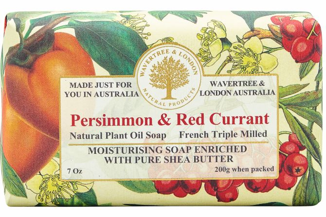 PERSIMMON & RED CURRANT SOAP