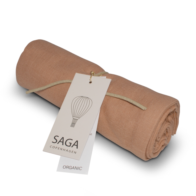 SAGA Copenhagen Muslin Cloth Vidar - Dusty Coral