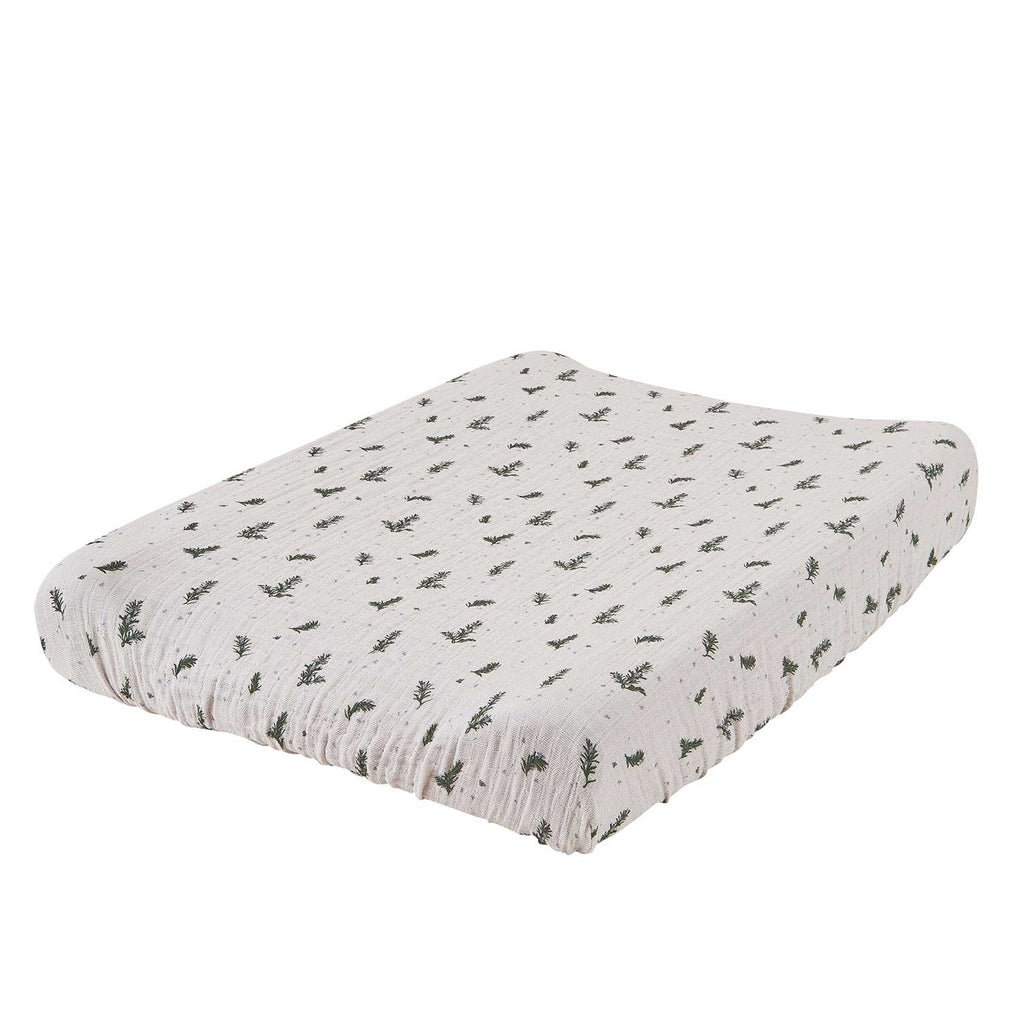 Garbo&Friends Rosemary Muslin Changing Mat Cover