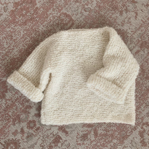 Shaggy Alpaca Woolly Knit - Pecan