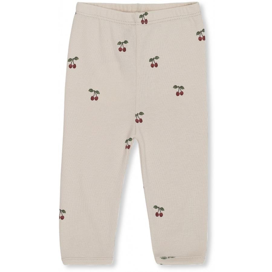 Konges Sløjd Newborn Pants Deux, Cherry Blush