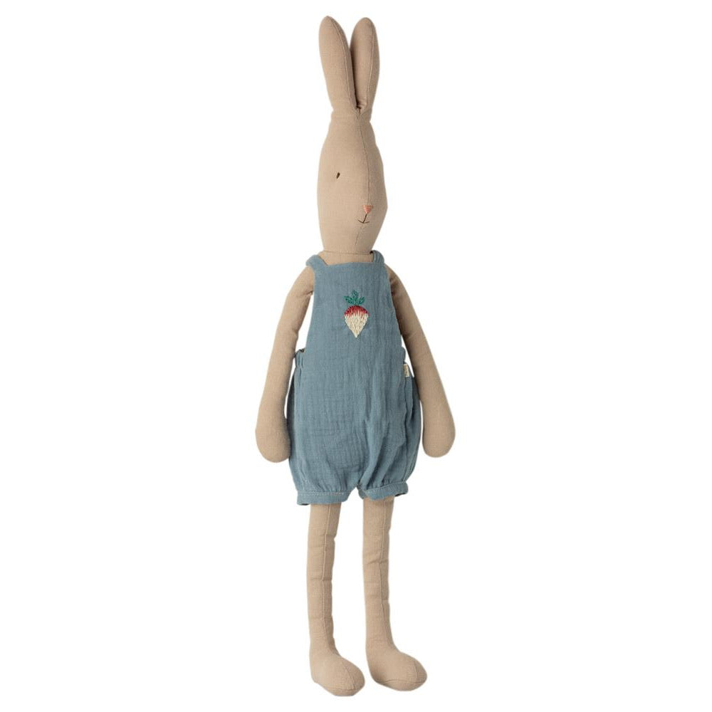 Maileg Bunny Size 4 in Overalls