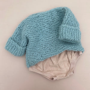 Fluffy Alpaca Woolly Knit - Sea Mist