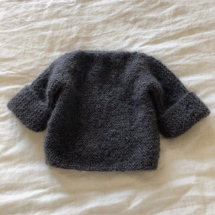 Mohair Woolly Knit - Charcoal