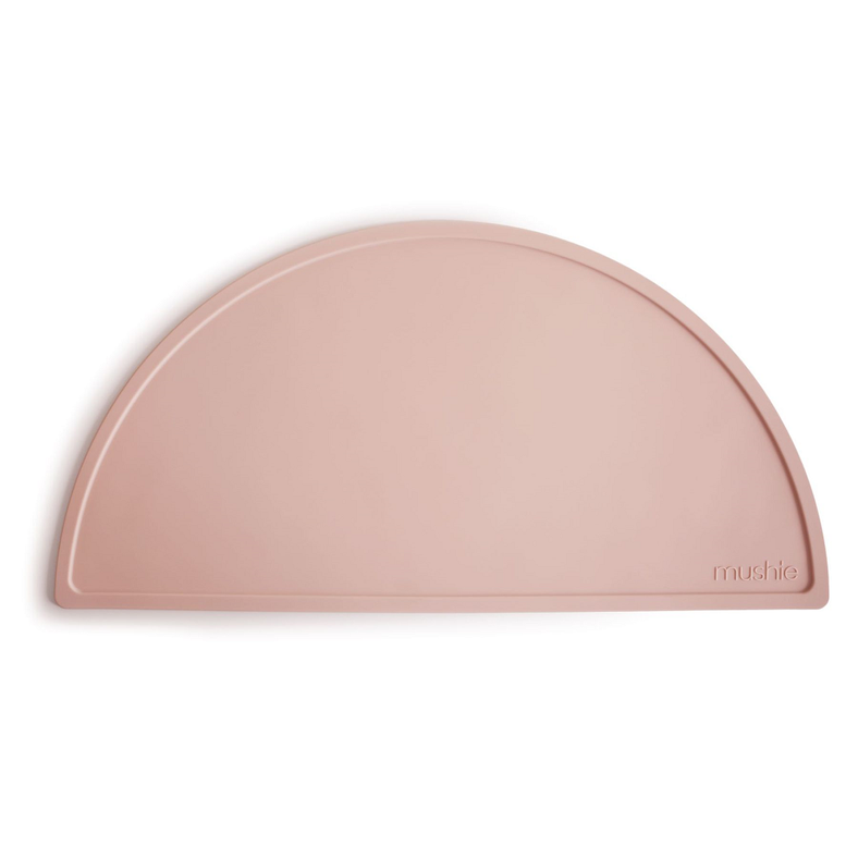Mushie Silicone Placemat, Blush