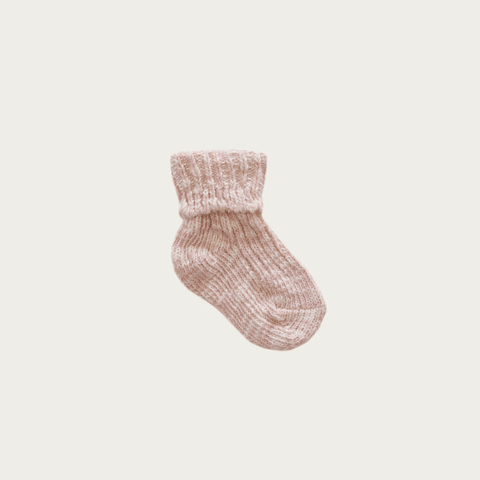 Jamie Kay Marle Sock - Rose Dust
