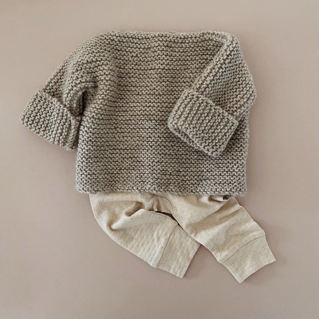 Woolly Knit - Fawn Marle