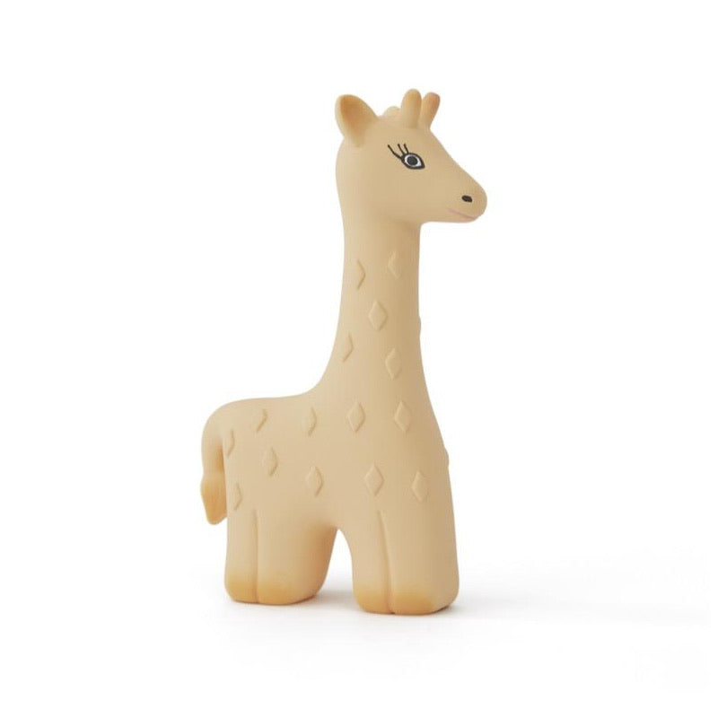 OYOY Noah Giraffe Baby Teether - Yellow