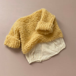 Fluffy Alpaca Woolly Knit - Buttercup