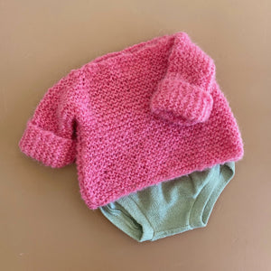 Fluffy Alpaca Woolly Knit - Bubblegum