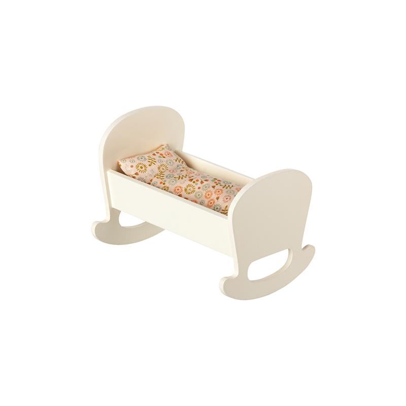 Maileg Cradle Micro, Off White