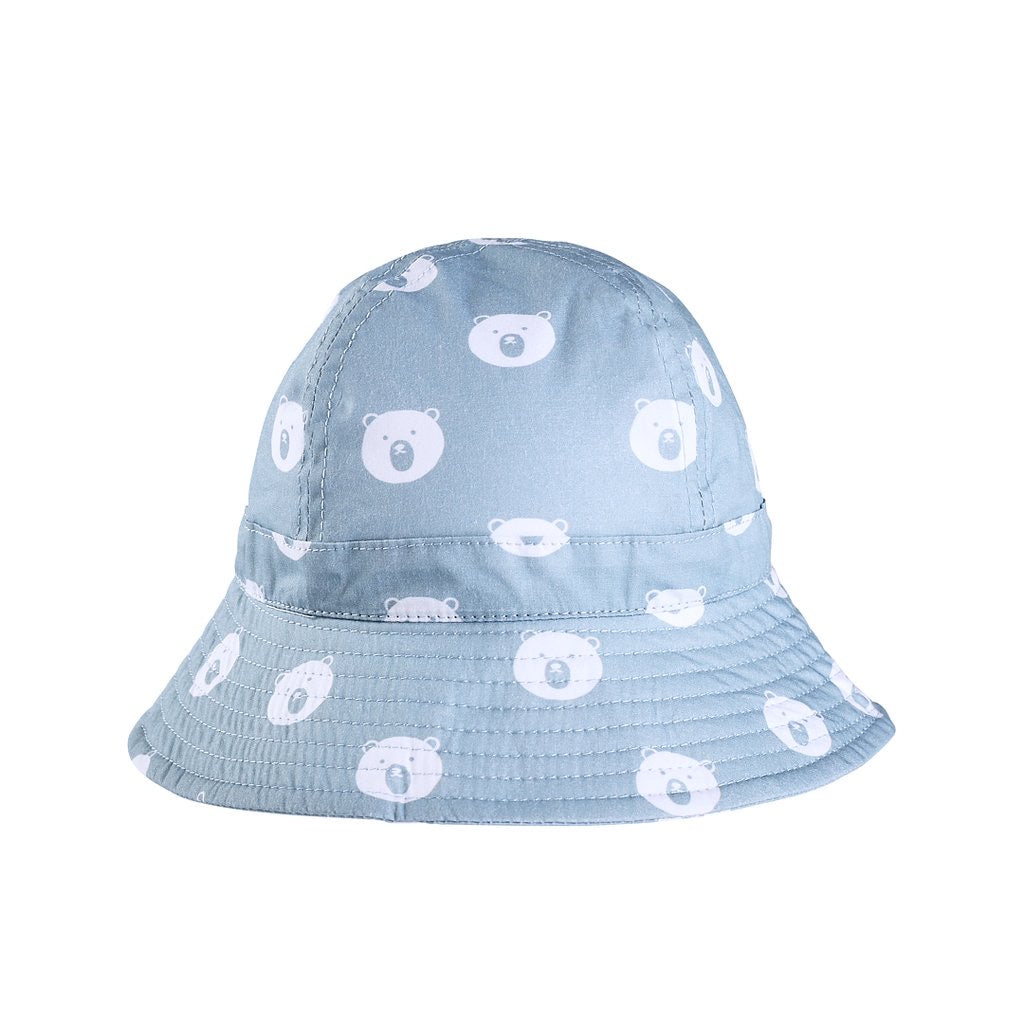 Acorn Bear Faces Infant Hat