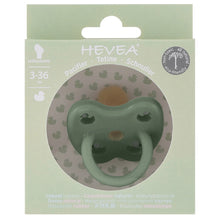 Hevea Orthodontic Pacifier - MOSS GREEN