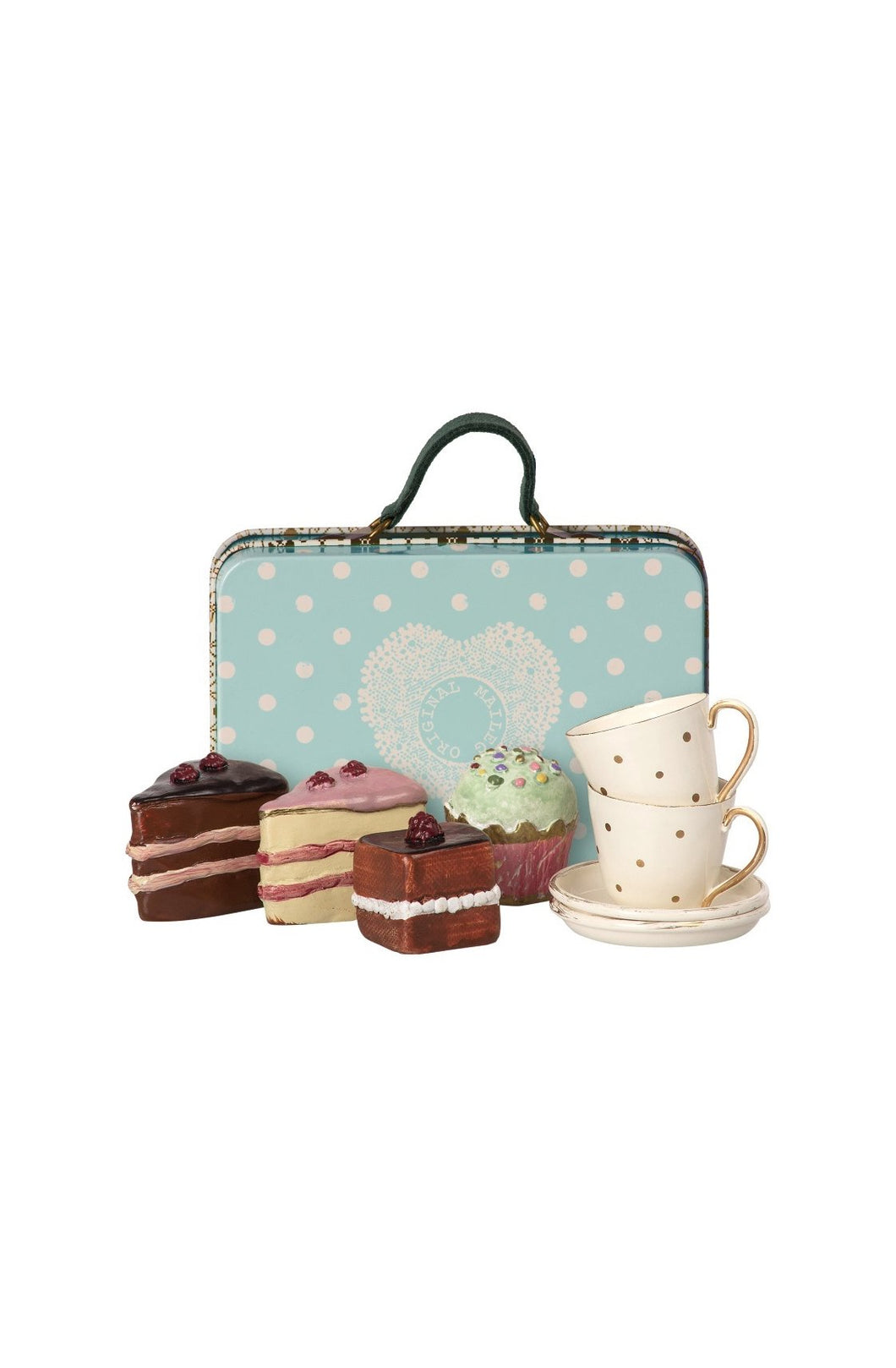 Maileg Suitcase with Cakes & Tableware