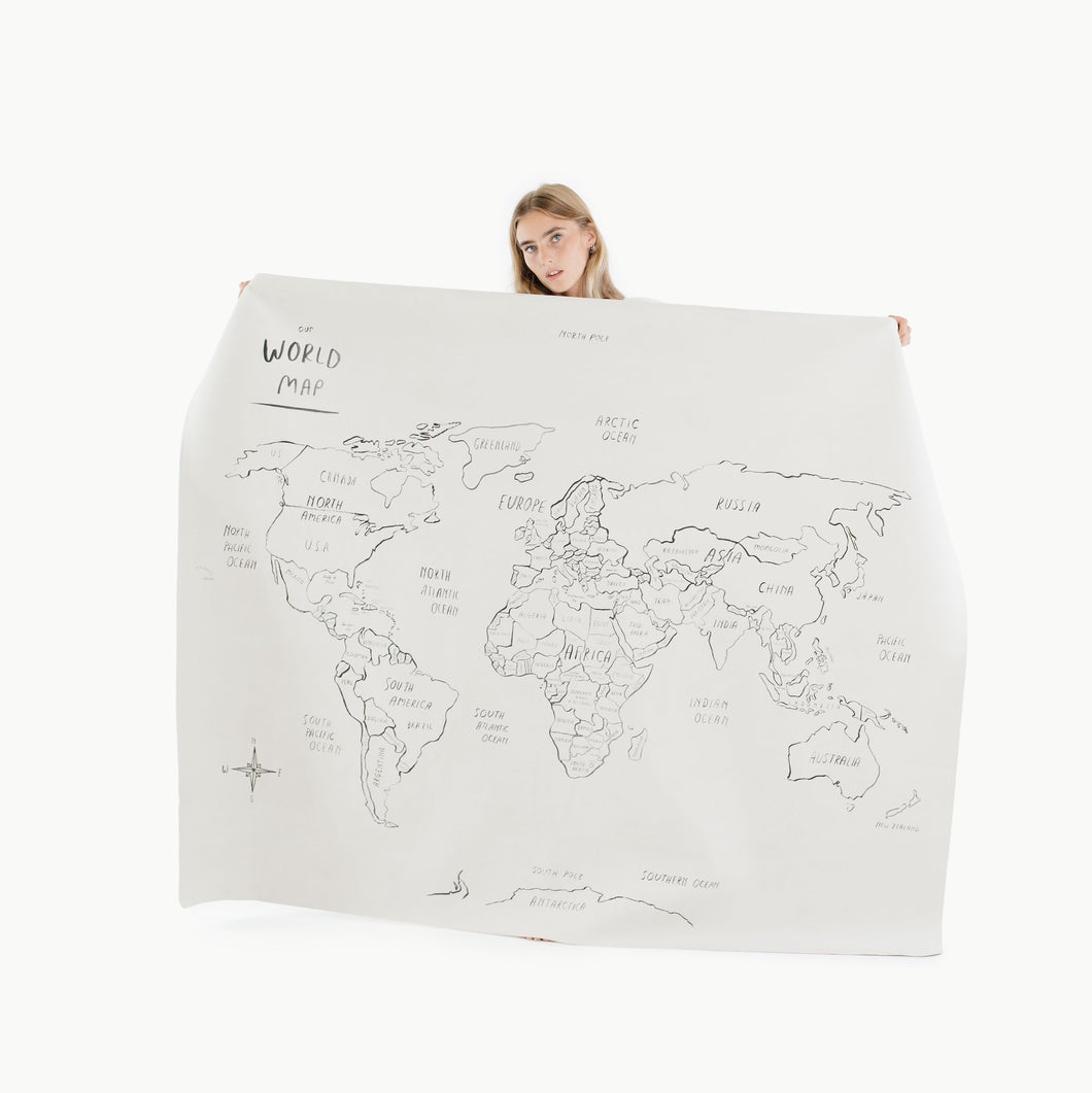 Gathre Play Mat Midi Plus, World Map