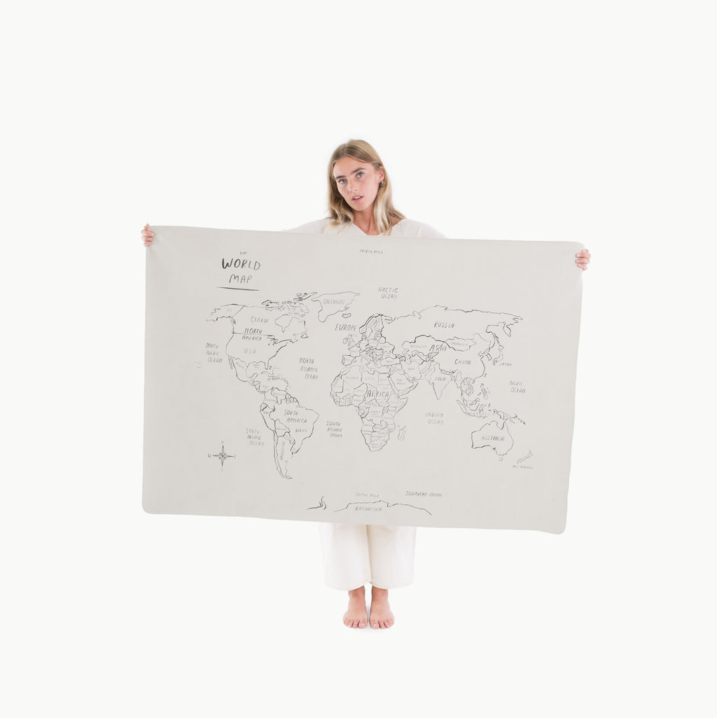 Gathre Play Mat Mini Plus, World Map