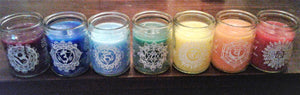"Chakra Complete 3"" Candle Set"
