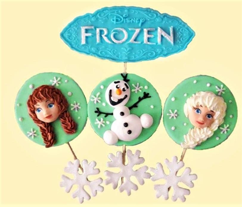 Topper Frozen din zahar - Nati Shop