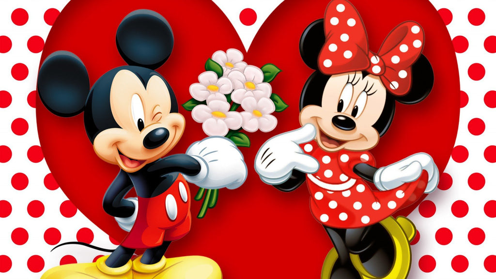Vafa Mickey si Minnie Mouse - Nati Shop