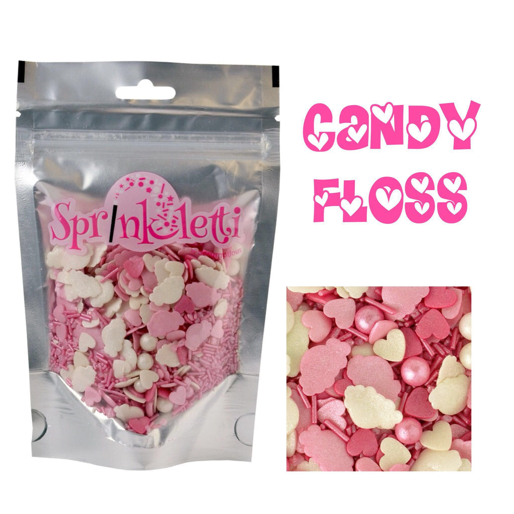 Sprinkletti – Candy Floss – 100g