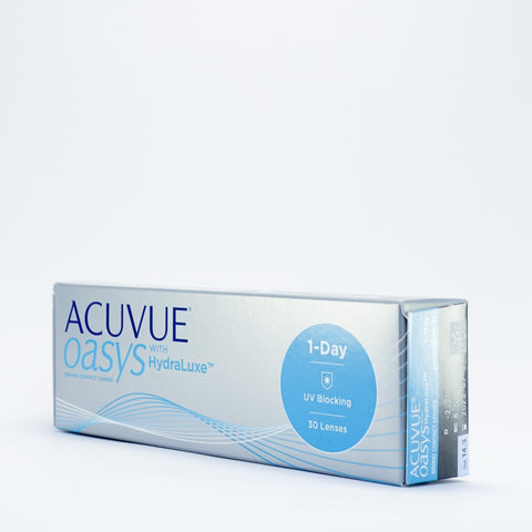 J&J Acuvue Oasys 1 Day with Hydraluxe 30 & 90 pack