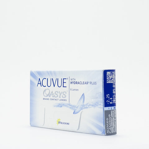J&J Acuvue Oasys with Hydraclear Plus