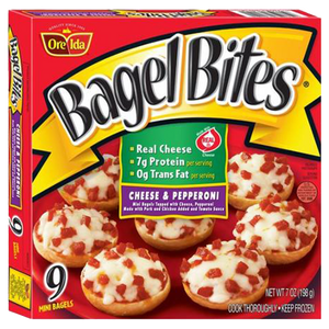 Bagel Bites Pepperoni, 9 Count