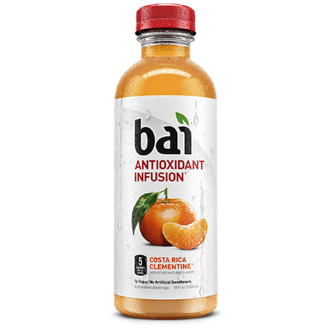 Bai Antioxidant Infusion - Costa Rica Clementine, 18oz.