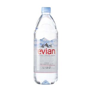 Evian Natural Spring Water,1 L