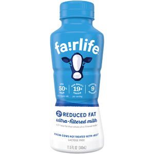 Fairlife 2% Milk, 11.5oz