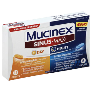 Mucinex Sinus-Max - Day & Night
