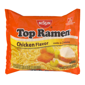 Nissin Top Ramen, Chicken Flavor