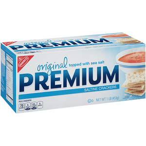 Premium Saltine Crackers, 1lb