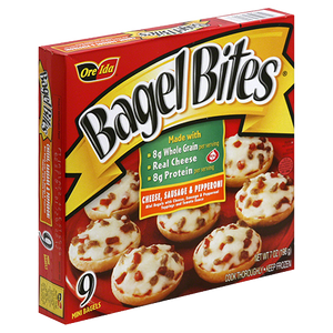 Bagel Bites Cheese, Sausage, and Pepperoni, 9 Count