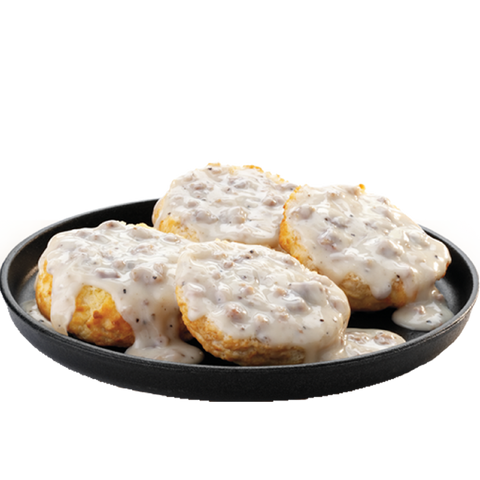 Single Gravy Biscuit (Click Picture to Customize) (Available Until 10:30AM)