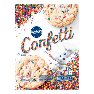 Pillsbury Confetti Sugar Cookie, 16oz