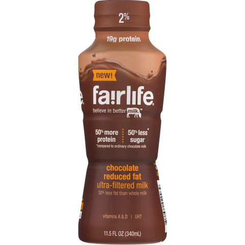 Fairlife 2% Chocolate Milk, 11.5oz
