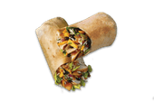 Caribbean Jerk Chicken Wrap (Click To Choose Side)
