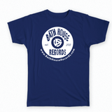 Bath House Records Vintage Logo Tee Shirt - Mens