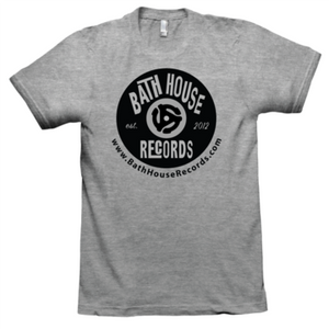 Bath House Records Vintage Logo Tee Shirt - YOUTH