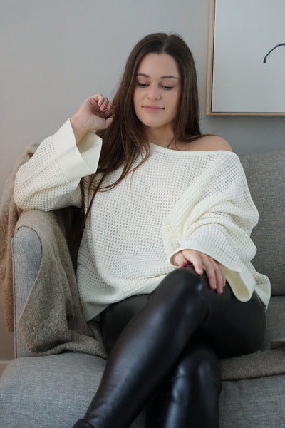 Slouchy Bell Sleeve Sweater