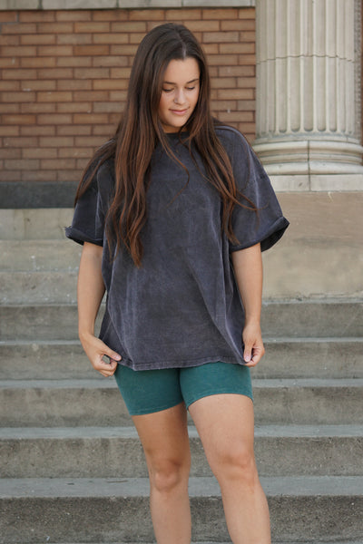Mineral Wash T-Shirt - 2 Colours - Uforia Muse Online