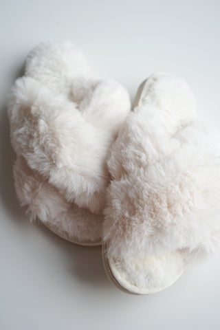 Fuzzy Slippers - 2 Colours
