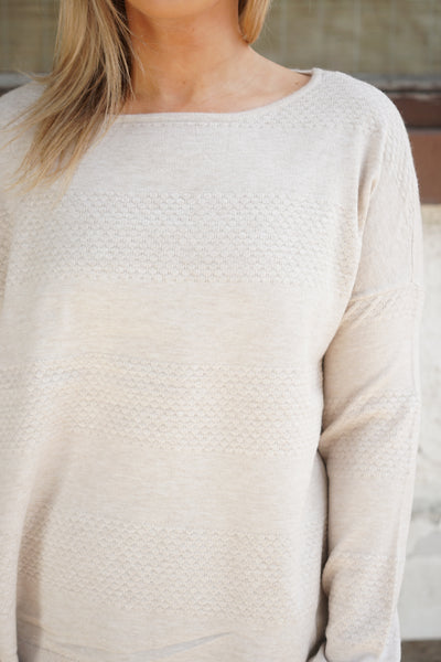 Brenda Light Textured Sweater - Only - 4 Colours - Uforia Muse Online