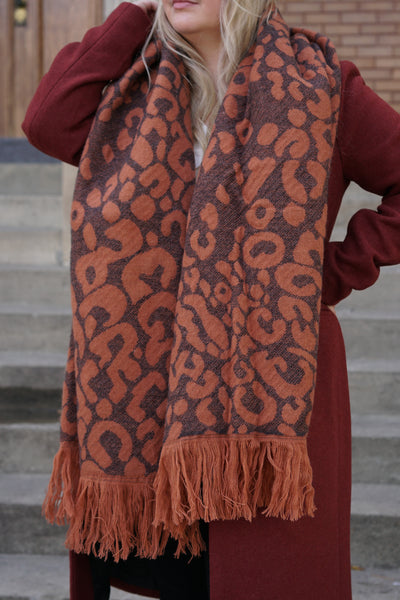 Mila Double Face Reversible Scarf - Only - Two Colours - Uforia Muse Online