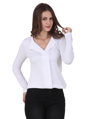Texco Cotton Jersey Different Collar Style Shirt Top